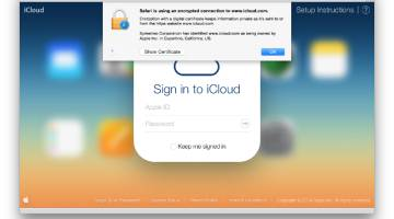 iCloud Phishing Attack