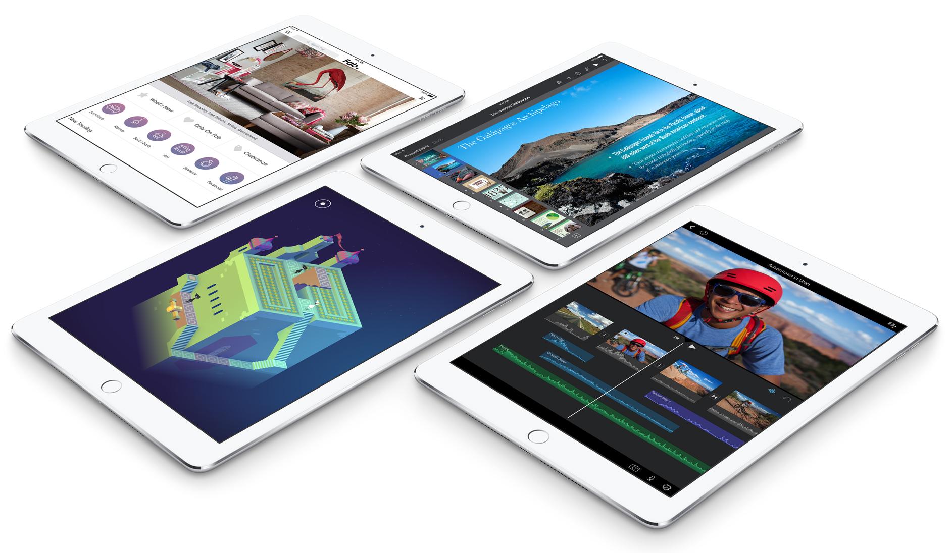 iPad Pro vs. iPad Air 2: Size