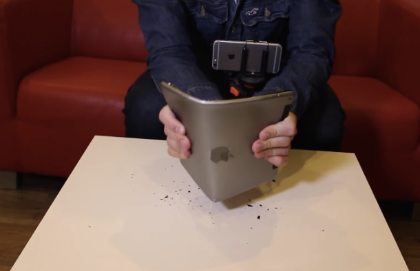 %name Video: The iPad Air 2 withstands a 'bend test' about as well as you'd expect by Authcom, Nova Scotia\s Internet and Computing Solutions Provider in Kentville, Annapolis Valley