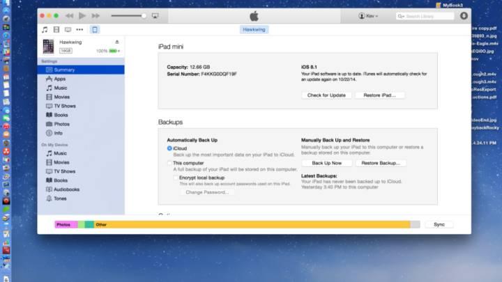 iOS 8 Upgrade Storage Issue
