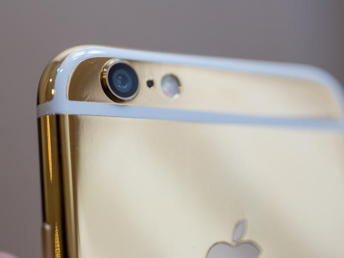 Iphone 6s Gold Iphone 6 24 Carat Gold Paint