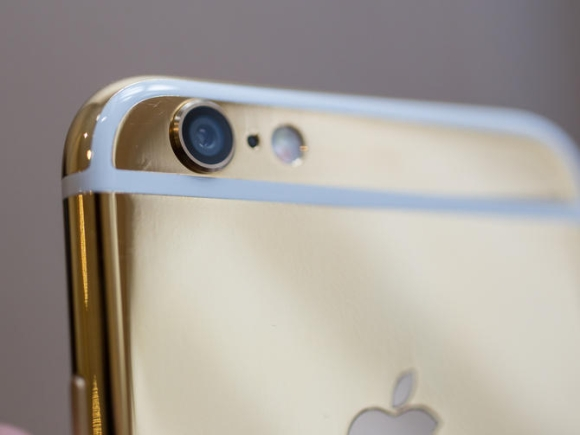 iPhone 6 24 Carat Gold Paint