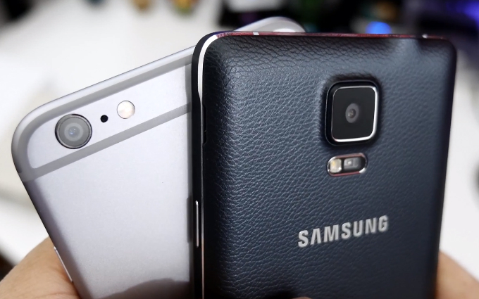 iPhone 6 Vs. Galaxy Note 4 Camera