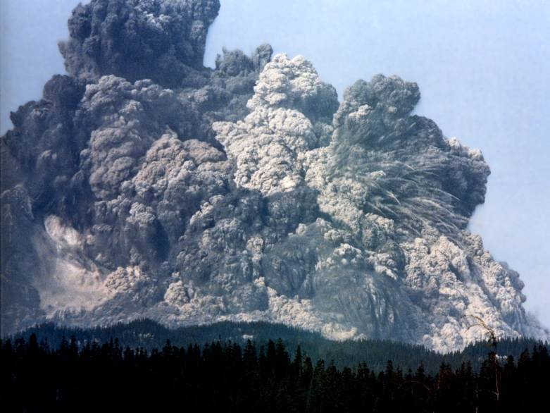 Mount St. Helens Space