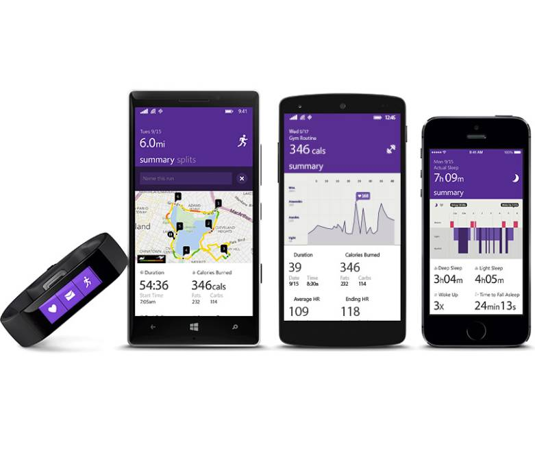 Microsoft Band Specs, Price and Release Date