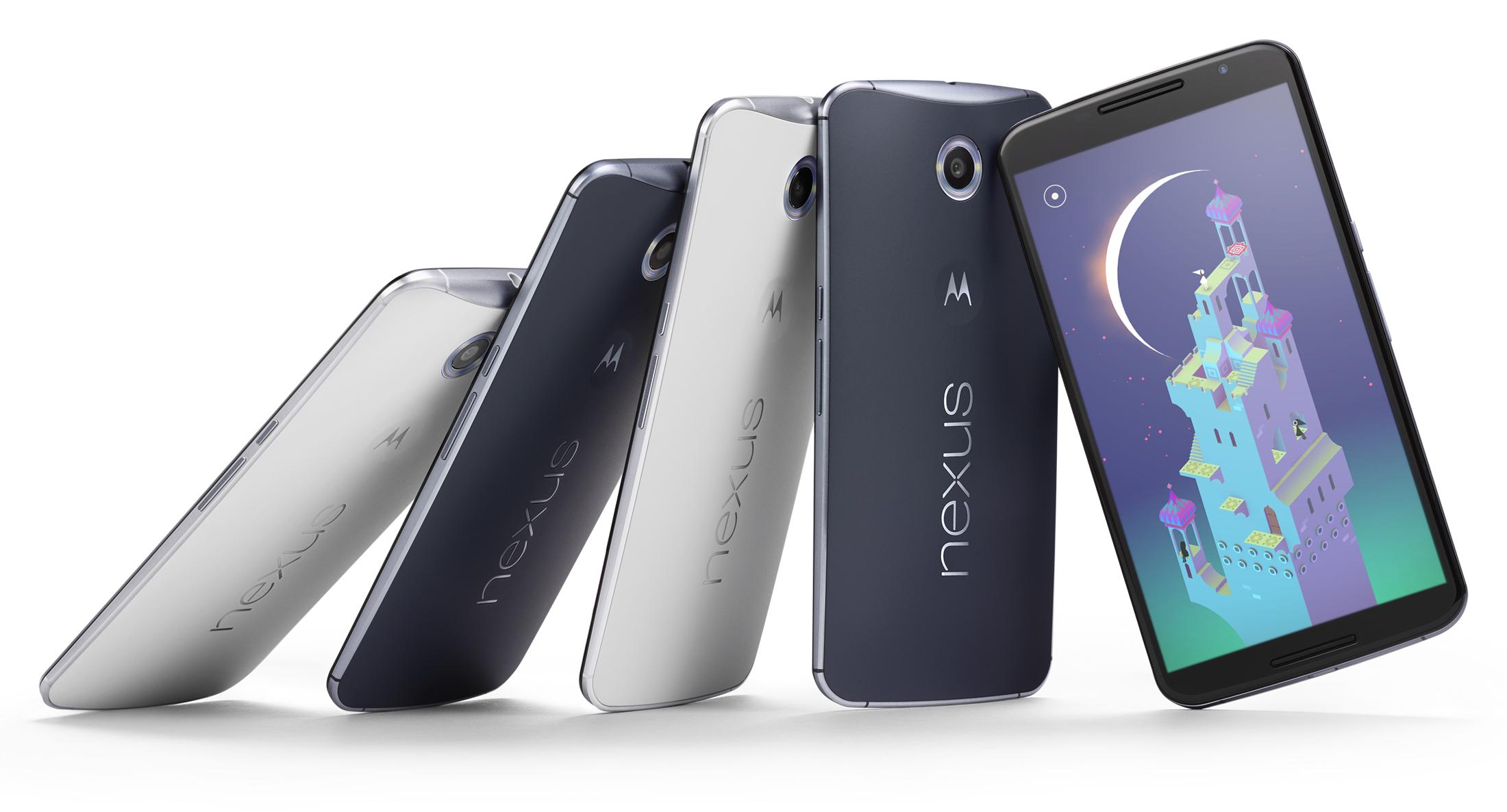 Nexus 6 vs. Nexus 5 vs. Nexus 4