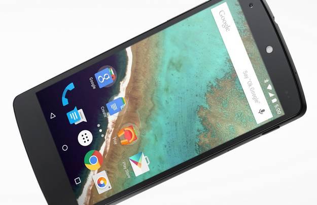Nexus 5 with Android 5.0 Lollipop