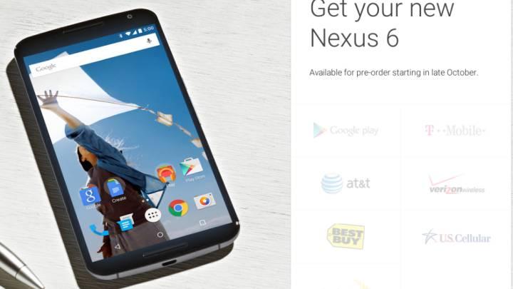 Verizon Nexus 6 Launch