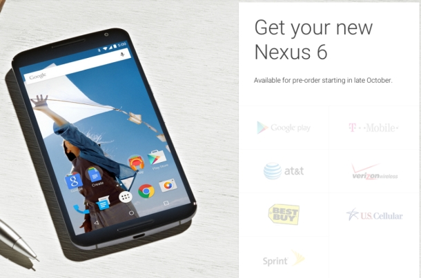 %name Nexus 6 is the first Nexus phone that no U.S. carrier could resist by Authcom, Nova Scotia\s Internet and Computing Solutions Provider in Kentville, Annapolis Valley