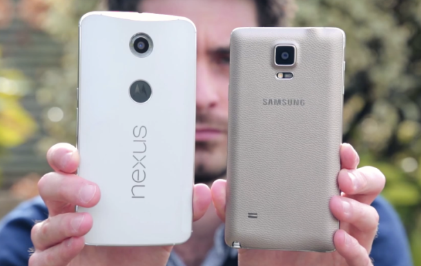 %name Video shows how gigantic the Nexus 6 is, even compared with the massive Galaxy Note 4 by Authcom, Nova Scotia\s Internet and Computing Solutions Provider in Kentville, Annapolis Valley