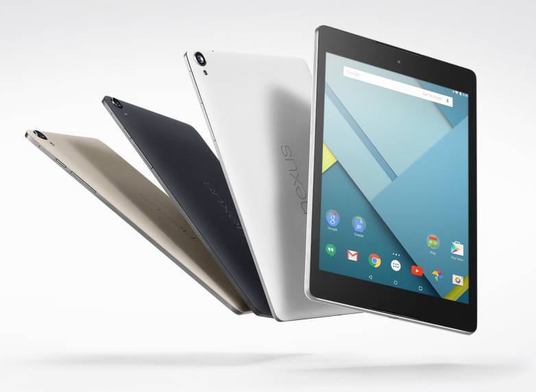 Nexus 9 vs. iPad Air 2