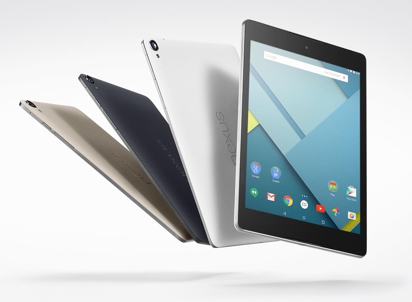 Nexus 9 vs. iPad Air 2