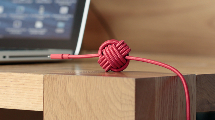 Meet Night Cable, the only iPhone charging cable made for your bedroom