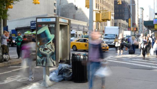 NYC Beacons in Public Phones