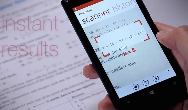 World's Best Smartphone Apps PhotoMath