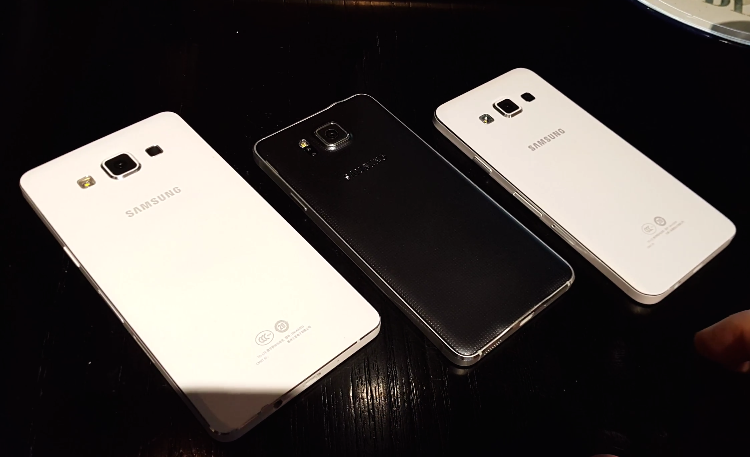 Samsung Galaxy A5 Leaked Video