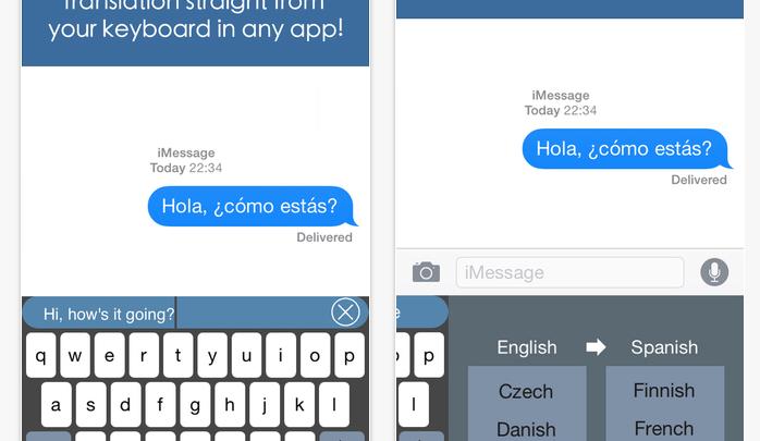 Best iOS 8 Keyboard Apps Translator Keyboard