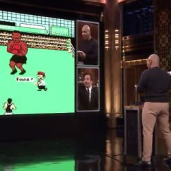 Mike Tyson Plays Punch Out Tonight Show