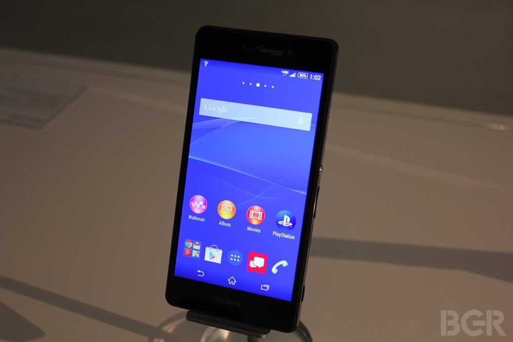 Sony Xperia Z3v Preview