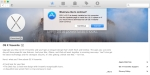 You can't install OS X Yosemite on your Mac because you're already running it