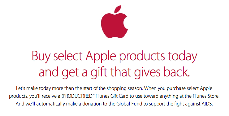 Apple Black Friday 2014 Deals