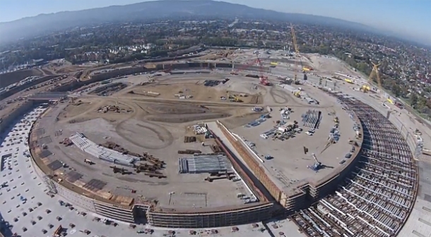 %name Drone captures incredible HD video footage of Apple's new spaceship campus by Authcom,
