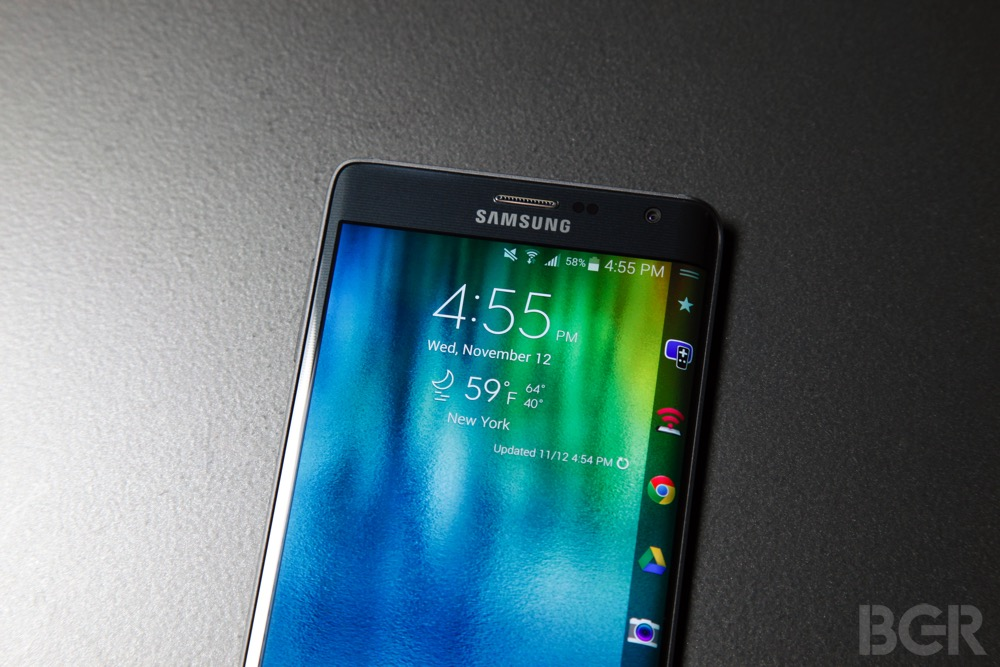 Galaxy S6 Rumors: Curved Edge Design