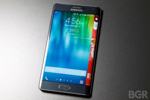 %name Samsung says the Galaxy Note Edge is 'quite durable' by Authcom, Nova Scotia\s Internet and Computing Solutions Provider in Kentville, Annapolis Valley