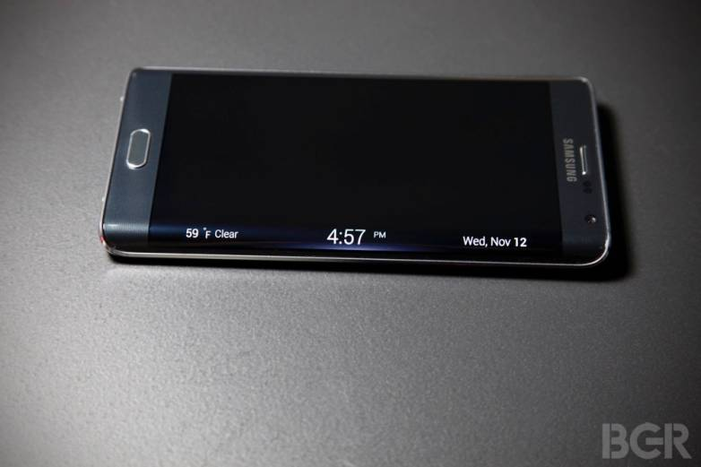 Galaxy S6 Edge Leaked Pictures