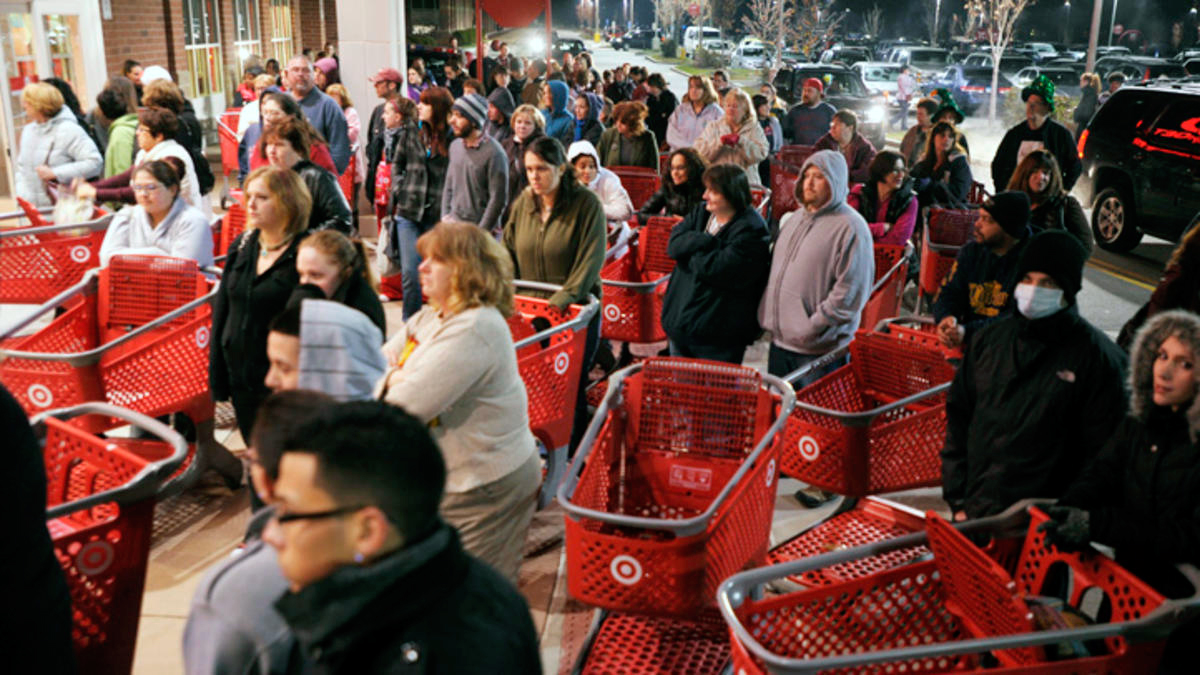 Target Black Friday Pep Talk Video