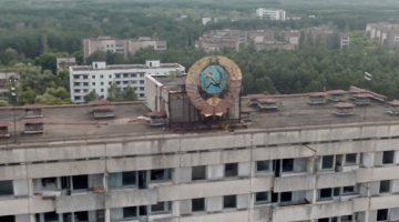 Chernobyl Drone Video Footage