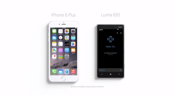 Cortana vs. Siri Commercial