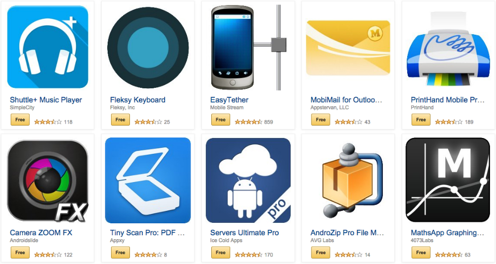 Amazon Appstore Nov. 14 Free Paid Apps Bundle