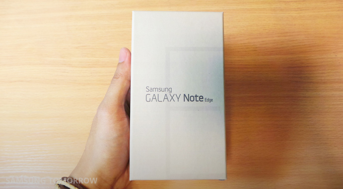 Galaxy Note Edge Unboxing Video