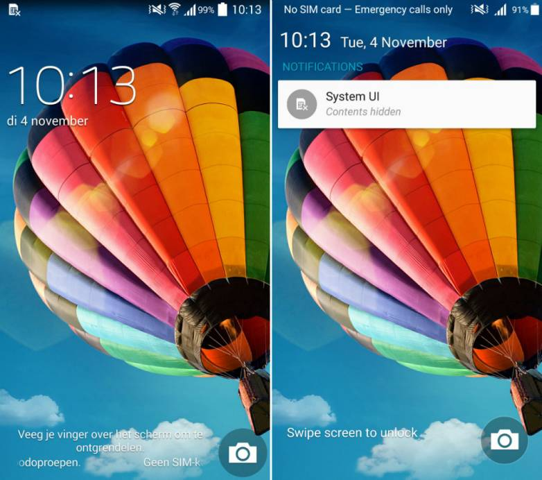 Android 5.0 vs. Android 4.4 on Galaxy S4