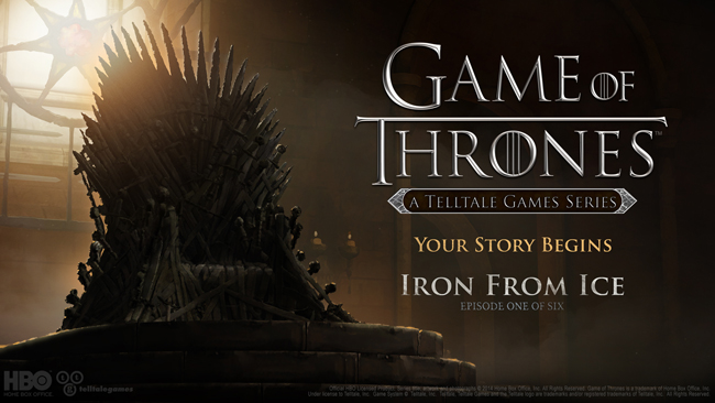 Telltale Game of Thrones Adventure Game