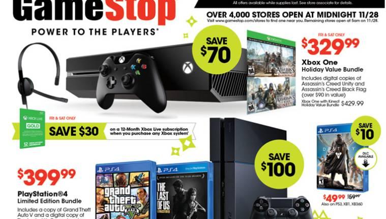 GameStop Black Friday 2014 Full Ad Official