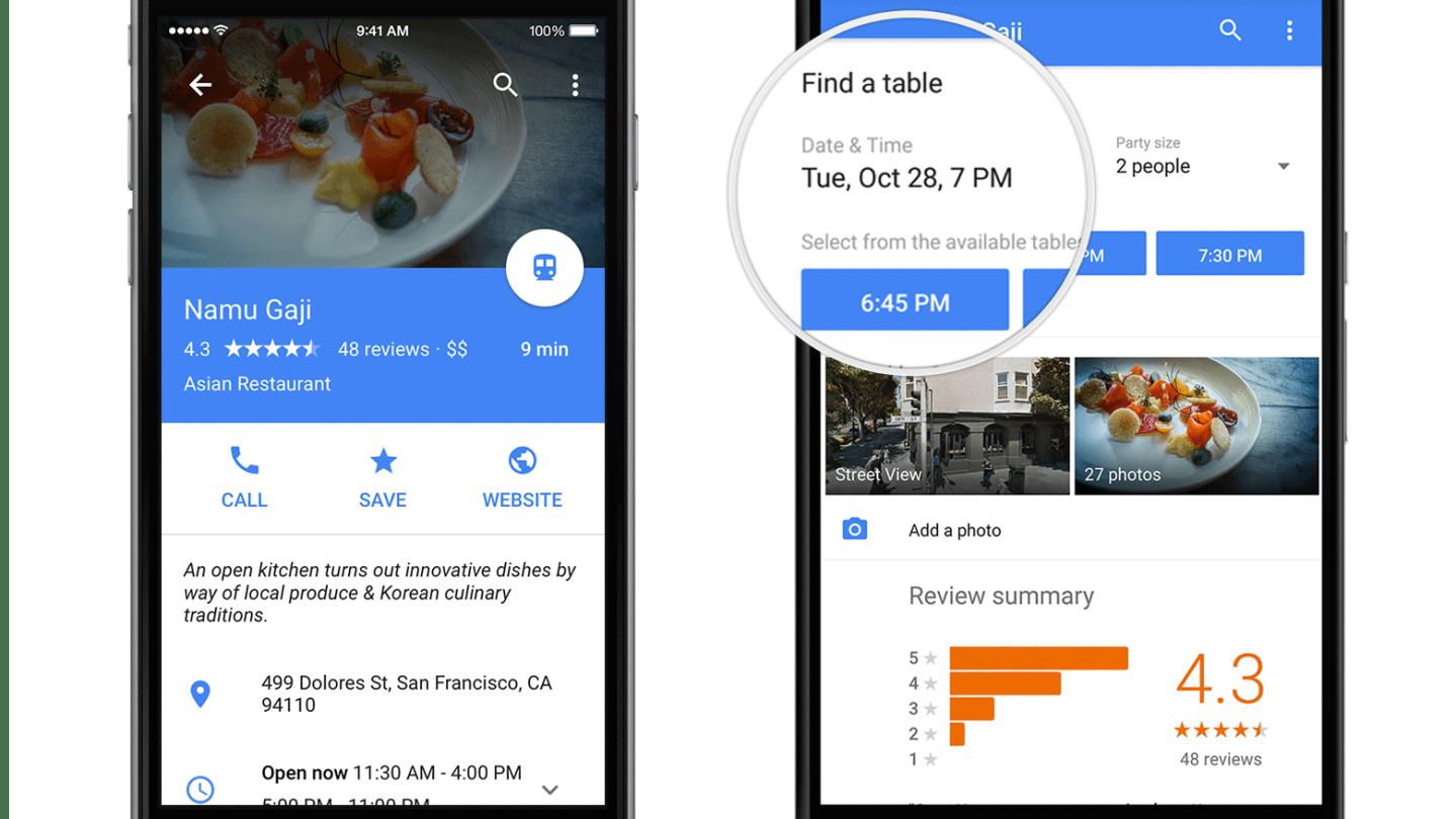 Google Maps Material Design Update