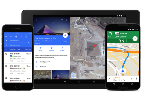 Google Maps Material Design Update Announced