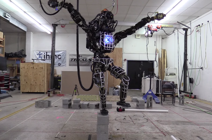 Google Robot Karate Kid Video