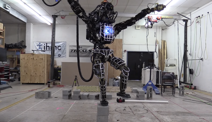 Google Robot Karate Kid Video