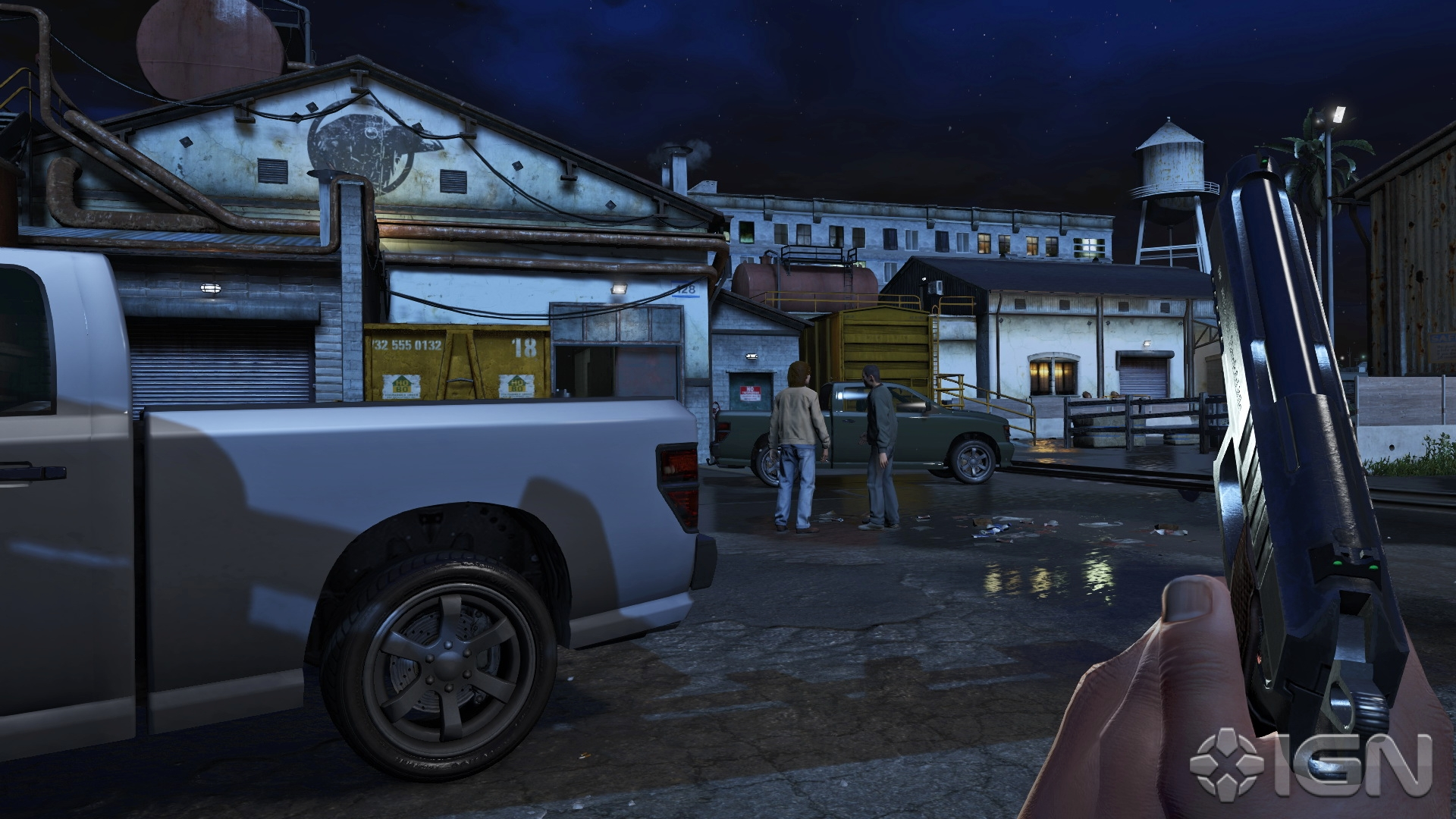 GTA V First-Person Mode