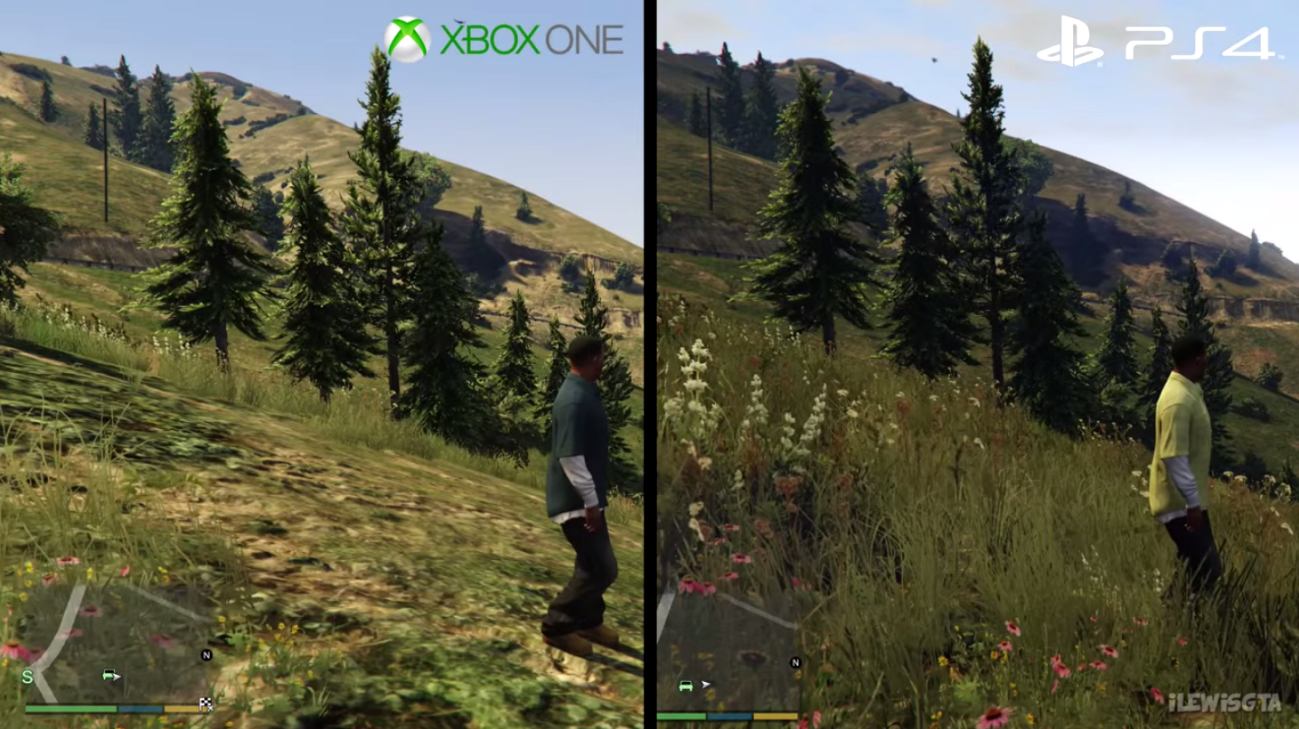 Gta 5 Xbox One : You won t believe how different gta v looks on ps