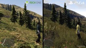 Grand Theft Auto V PS4 vs. Xbox One
