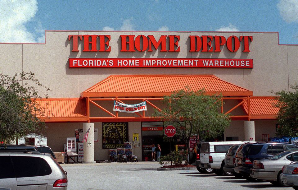 Home depot blames windows for record hack rushes out to for Shop home depot