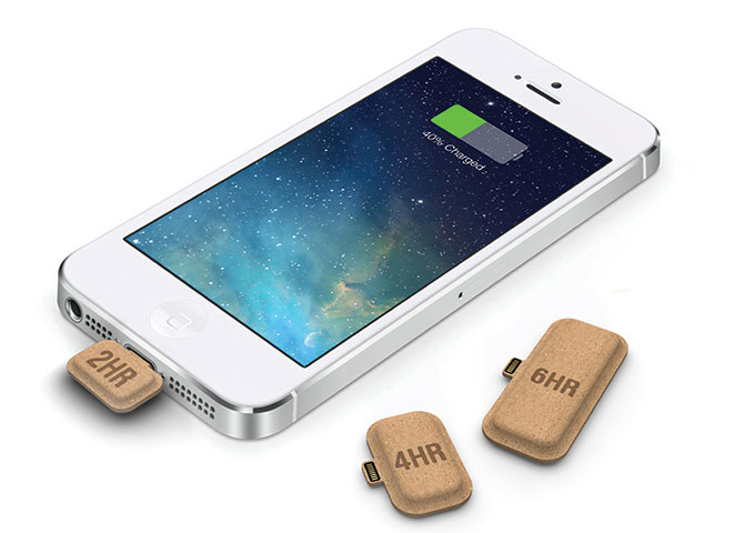 iPhone Mini Power Recyclable Cardboard Battery