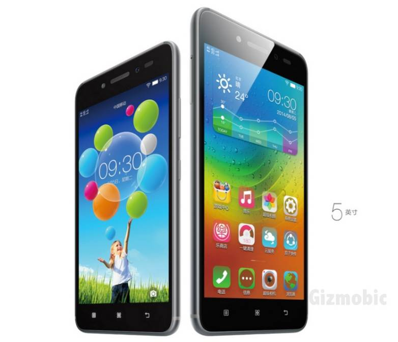Lenovo Sisley S90 vs. iPhone 6