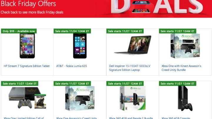 Microsoft Black Friday 2014 Full Ad