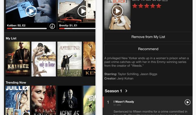 Netflix iPhone 6 Plus 1080p Support