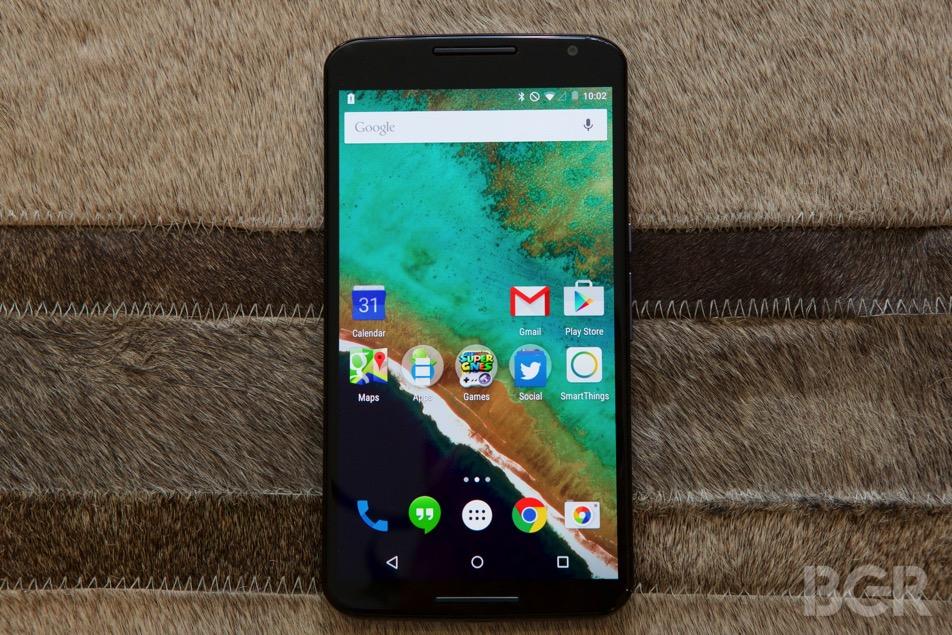 Google Nexus 6 Size Advertising